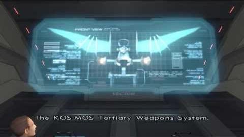 Xenosaga Episode II HD Cutscene 15 - Tertiary Weapons System - ENGLISH
