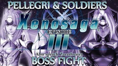 Ⓦ Xenosaga Episode 3 Walkthrough - Pellegri and Pellegri Soldiers Boss Fight
