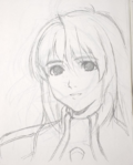 Elly portrait sketch