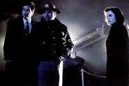 Mulder Sheriff Daniels Scully L'Église des Miracles