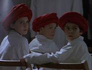 Enfants Groupe témoin Église du Musée Rouge