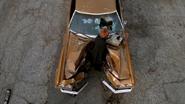 Dana Scully Voiture Accidentée Dur comme fer
