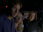 Mulder Langly Scully Opération presse-papiers