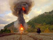 Explosion Train 731 Monstres d'utilité publique 2e partie