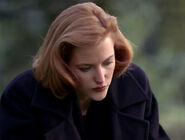 Scully deuil tombe de Melissa Scully L'Épave 2e partie