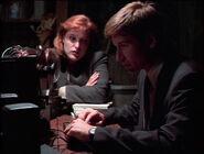 Scully Mulder Enregistrement Effacé Les Petits Hommes Verts