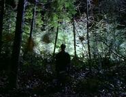 Billy Miles Forêt Oregon Nous ne sommes pas seuls