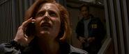 Scully Mulder Édifice Dallas Texas Combattre le Futur