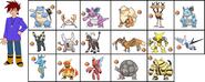 Gary oak s pokemon by chipmunkraccoon2-d79uzsg
