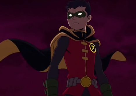 Damian Wayne(Robin) (Batman vs. Teenage Mutant Ninja Turtles)