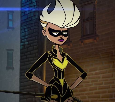 Dinah Laurel Lance(Black Canary) (Green Arrow Shorts)
