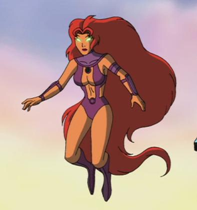 Starfire(Superman/Batman: Public Enemies)