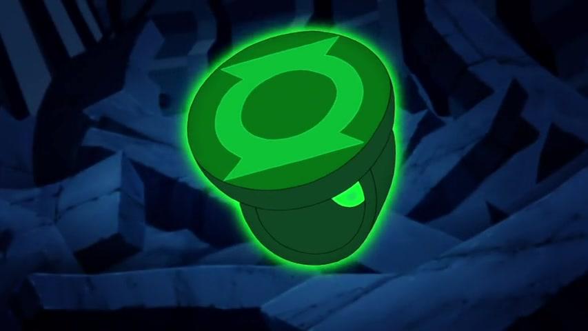 Jessica Cruzs Green Lantern Ring