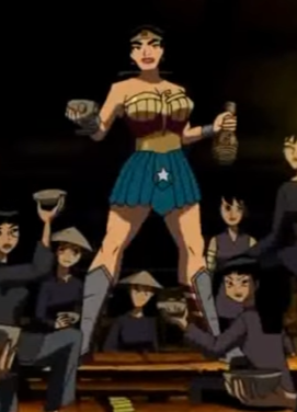 Diana Prince(Wonder Woman) (Justice League The New Frontier)