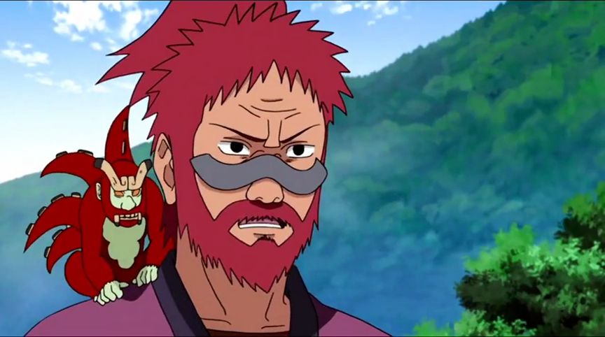 Four-Tails Son Goku (Killer Bees Infinite Tsukuyomi)