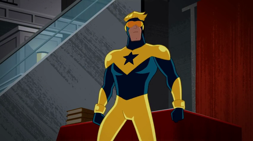 Booster Gold(She Wore Red Velvet)