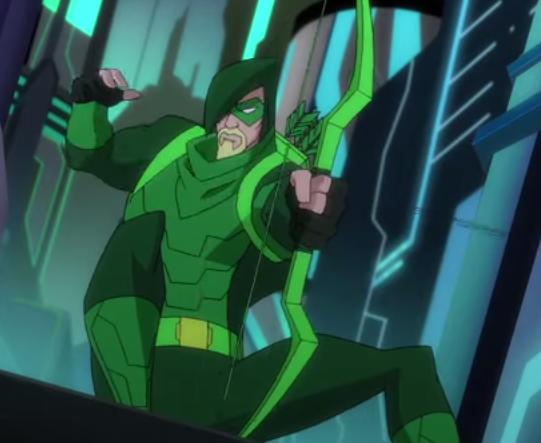 Oliver Queen(Green Arrow) (Batman Unlimited: Animal Instincts)
