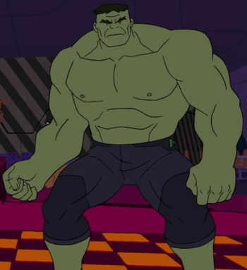 Dr. Bruce Banner(The Hulk) (Earth-TRN633)