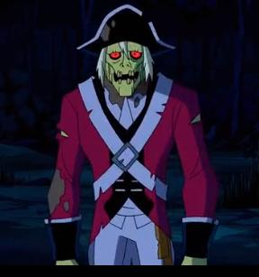 Red Coat Zombie