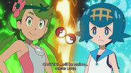 Pokemon Sun & Moon Episode 129 0910