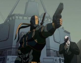 Captain Slade Wilson(Deathstroke) (Flashpoint Paradox)
