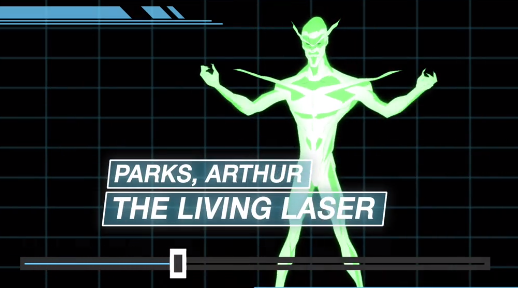 Arthur Parks(Living Laser) (Earth-12041)