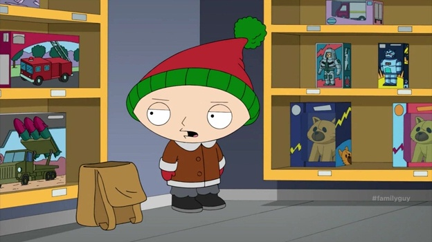 Stewie Griffin(Christmas Guy)