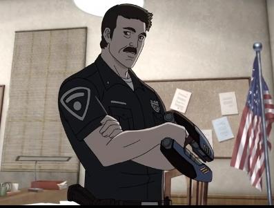 Officer Mikey Coogan