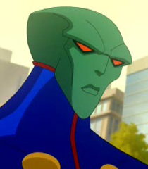 J'onn J'onzz(Martian Manhunter) (Justice League: Crisis on Two Earths)