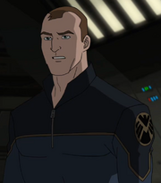 Agent Phil Coulson (Earth-TRN123) in Ultimate Spider-Man Season 2 21.png