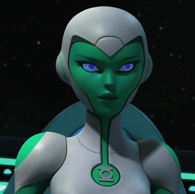 Aya (Green Lantern Animated Series)