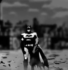 Bruce Wayne(Batman) (Batman Black and White)