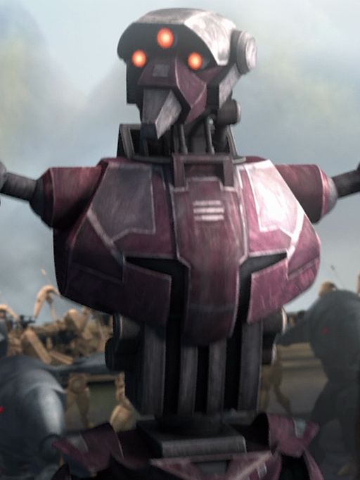 Unidentified super tactical droid (Yerbana)