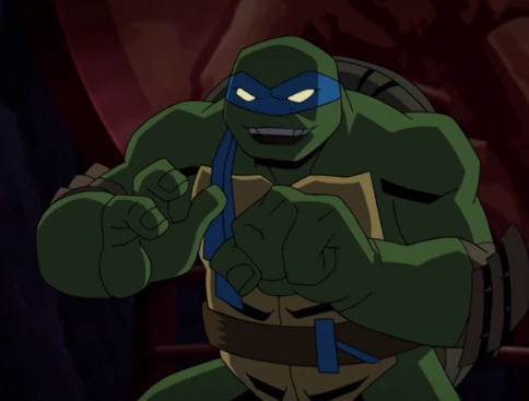 Leonardo (Batman vs. Teenage Mutant Ninja Turtles)