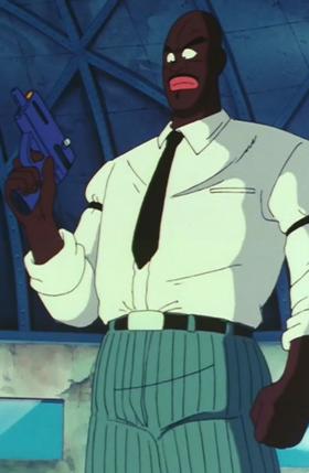 Staff Officer Black