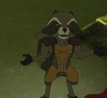 Darkhawk Rocket Raccoon