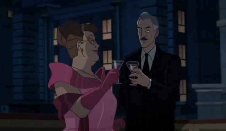 Alfred Pennyworth(Batman vs. Two-Face)