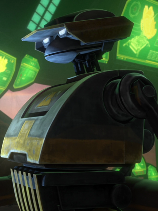 Unidentified T-series tactical droid (Anaxes)