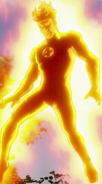 Jonathan Storm (Human Torch) (Earth-TRN123)