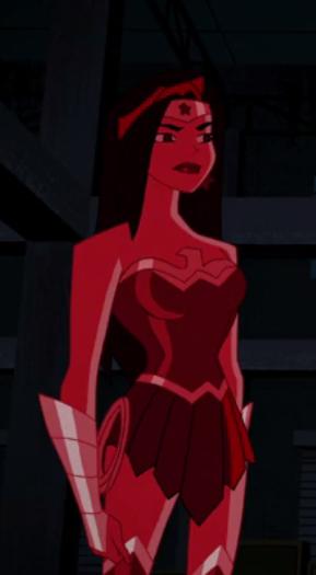 Red Wonder Woman