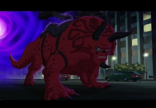 Red Skull-Asaurus