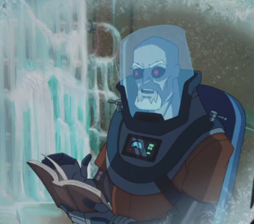 Dr. Victor Fries(Mister Freeze) (Batman vs. Teenage Mutant Ninja Turtles)