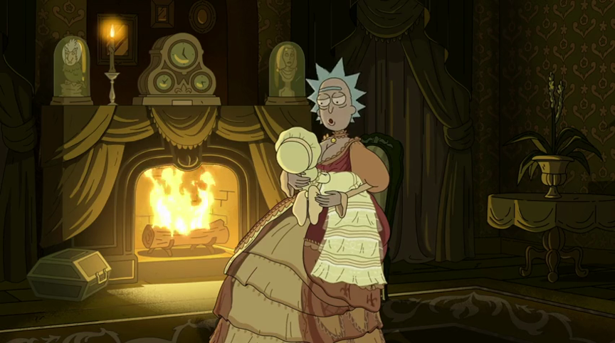 Female Rick Sanchez