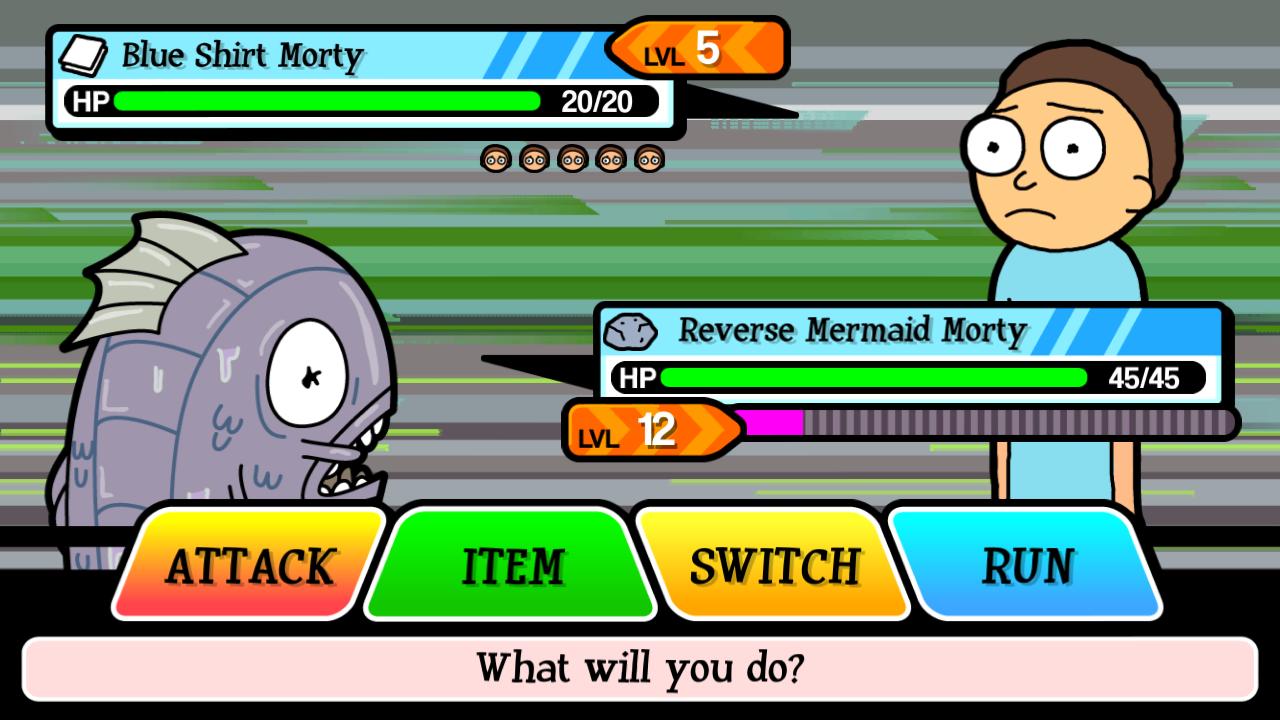 Reverse Mermaid Morty