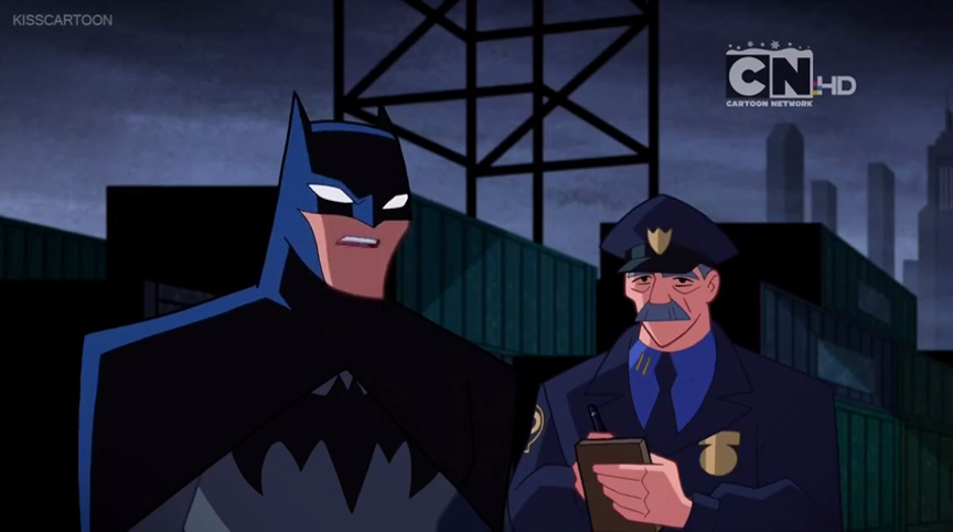 James W. Gordon(Justice League Action)
