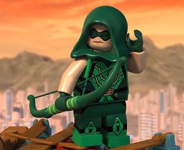 Oliver Queen(Green Arrow) (Lego Universe)