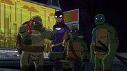 Batman vs TMNT 3077