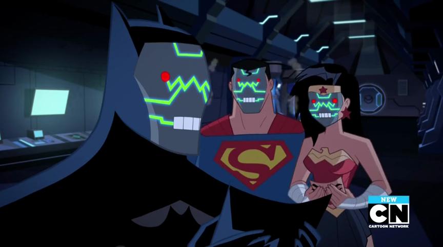 Apokolips Wonder Woman Robot