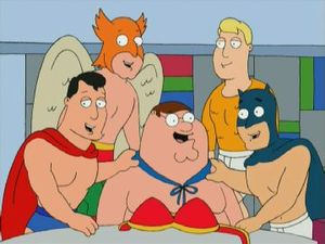 Arthur Curry(Aquaman) (Family Guy Universe)