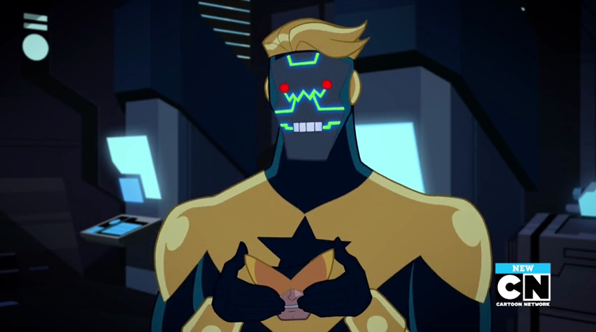 Apokolips Booster Gold Robot